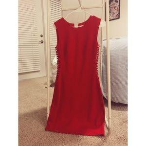 "bailey44 ""tango"" sheath dress in red"